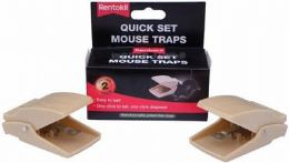 Rentokil Quick Set Mouse Traps £3.95